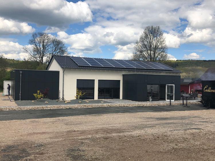 Neubau Dorfgemeinschaftshaus in Rheinland-Pfalz in Holzständerbauweise